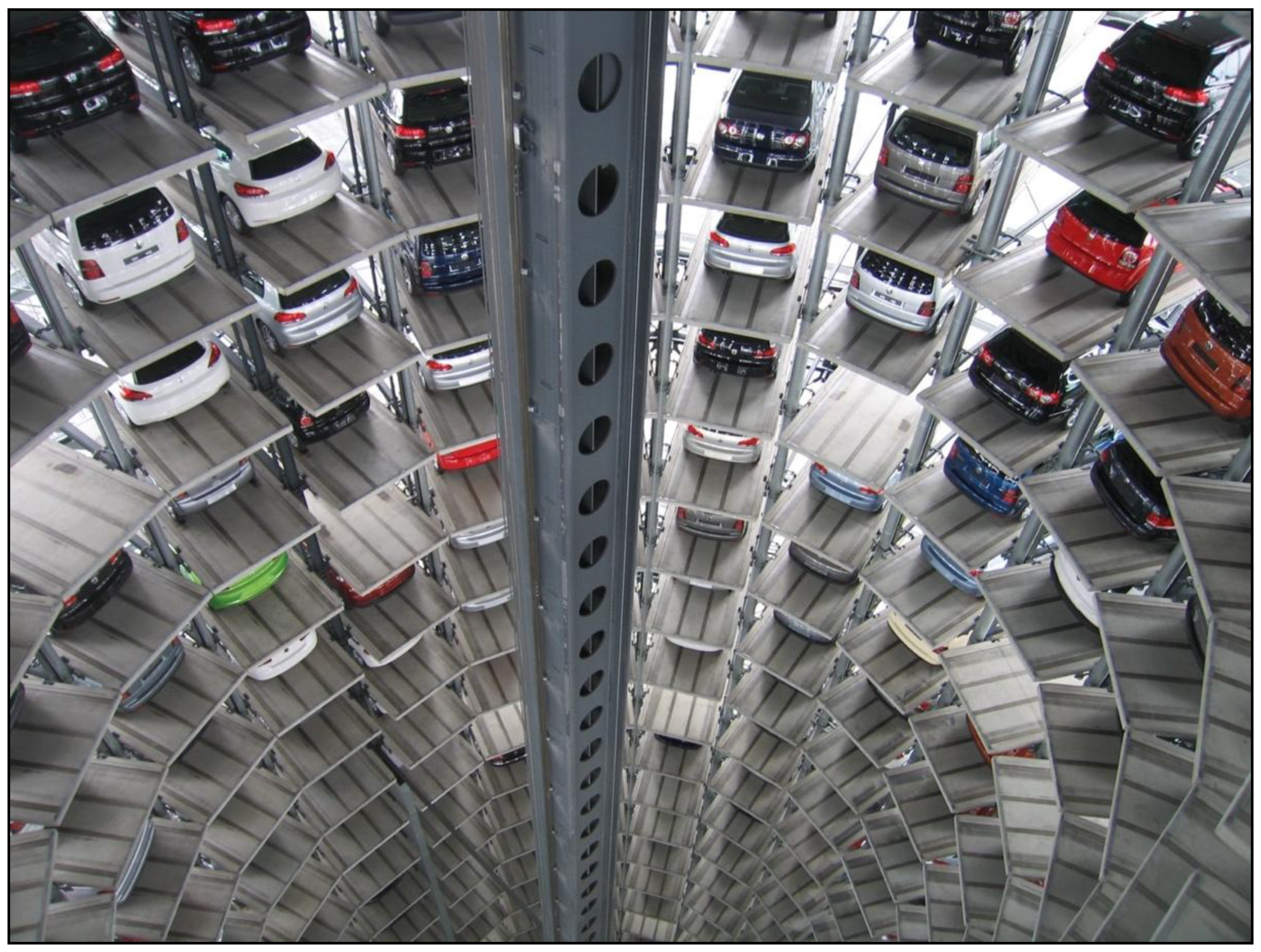 Robot Parking Lot Conserve Room Yet There is a DILEMMA – Power Use